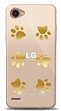 LG Q6 Gold Patiler Kılıf
