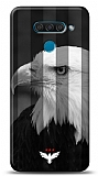 LG Q60 3 Yıldız Kartal Kılıf