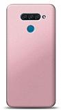 LG Q60 Rose Gold Mat Silikon Kılıf