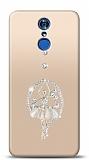 LG Q7 Plus Balerin Taşlı Kılıf