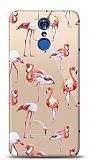 LG Q7 Plus Flamingo Resimli Kılıf