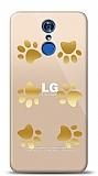 LG Q7 Plus Gold Patiler Kılıf