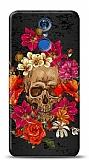 LG Q7 Plus Roses Skull 1 Kılıf