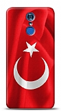 LG Q7 Plus Türk Bayrağı Kılıf