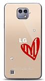 LG X cam 3 Taş Love Kılıf
