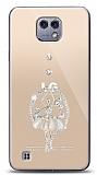 LG X cam Balerin Taşlı Kılıf