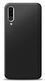 Meizu 16XS Siyah Mat Silikon Kılıf