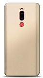 Meizu Note 8 Gold Mat Silikon Kılıf