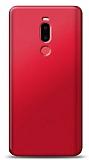 Meizu Note 8 Kırmızı Mat Silikon Kılıf