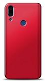 Meizu Note 9 Kırmızı Mat Silikon Kılıf