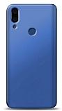 Meizu Note 9 Lacivert Mat Silikon Kılıf
