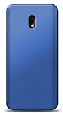 Nokia 2.2 Lacivert Mat Silikon Kılıf