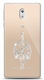 Nokia 3 Balerin Taşlı Kılıf