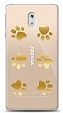Nokia 3 Gold Patiler Kılıf