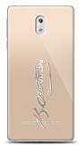 Nokia 3 Silver Atatürk İmza Kılıf