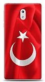 Nokia 3 Türk Bayrağı Kılıf