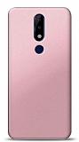 Nokia 5.1 Plus Rose Gold Mat Silikon Kılıf