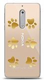 Nokia 5 Gold Patiler Kılıf