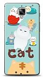 OnePlus 3 Üç Boyutlu Sevimli Kedi Kılıf