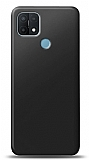 Oppo A15 Siyah Mat Silikon Kılıf