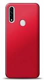 Oppo A31 Kırmızı Mat Silikon Kılıf