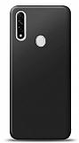 Oppo A31 Siyah Mat Silikon Kılıf