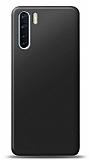 Oppo A91 Siyah Mat Silikon Kılıf
