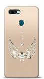 Oppo AX7 Angel Death Taşlı Kılıf