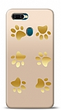 Oppo AX7 Gold Patiler Kılıf