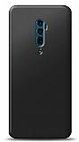 Oppo Reno 10x Zoom Siyah Mat Silikon Kılıf