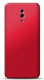 Oppo Reno Kırmızı Mat Silikon Kılıf