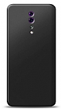 Oppo Reno Z Siyah Mat Silikon Kılıf