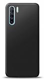 Oppo Reno3 Siyah Mat Silikon Kılıf