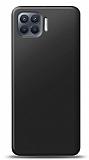 Oppo Reno4 Lite Siyah Mat Silikon Kılıf