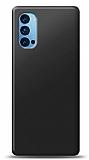Oppo Reno4 Siyah Mat Silikon Kılıf