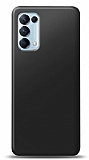 Oppo Reno5 Pro 5G Siyah Mat Silikon Kılıf