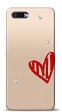 Oppo RX17 Neo 3 Taş Love Kılıf