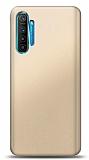 Realme 6 Pro Gold Mat Silikon Kılıf