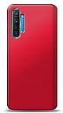 Realme 6 Pro Kırmızı Mat Silikon Kılıf