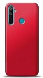 Realme 6i Kırmızı Mat Silikon Kılıf