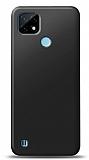 Realme C21 Siyah Mat Silikon Kılıf