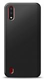 Samsung Galaxy A01 Siyah Mat Silikon Kılıf