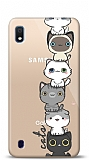Samsung Galaxy A10 Lovely Cats Kılıf