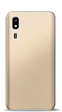 Samsung Galaxy A2 Core Gold Mat Silikon Kılıf