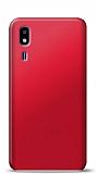 Samsung Galaxy A2 Core Kırmızı Mat Silikon Kılıf