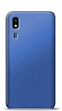 Samsung Galaxy A2 Core Lacivert Mat Silikon Kılıf