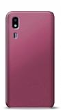 Samsung Galaxy A2 Core Mürdüm Mat Silikon Kılıf