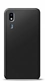 Samsung Galaxy A2 Core Siyah Mat Silikon Kılıf