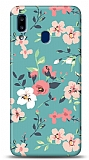 Samsung Galaxy A20S Çiçek Desenli 1 Kılıf