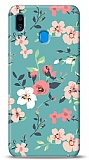 Samsung Galaxy A30 Çiçek Desenli 1 Kılıf